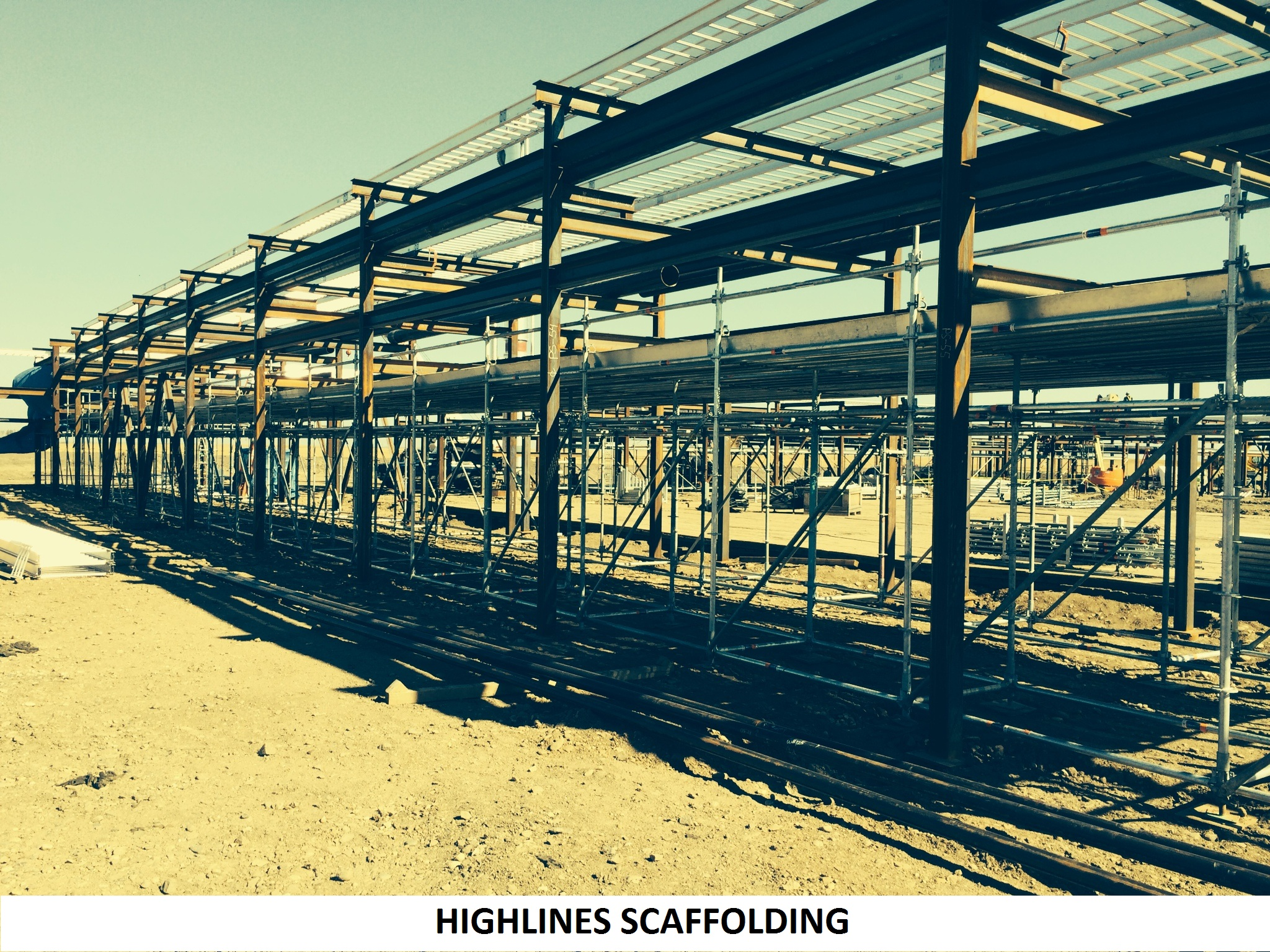 Scaffolding for Highlines