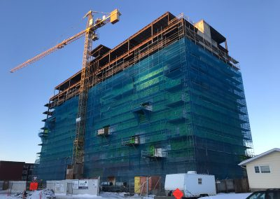 Scaffolding for Fort McMurray Synergy Project