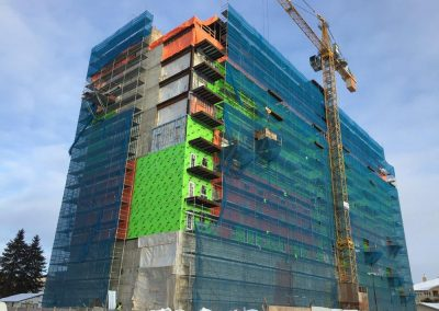 Rio-Verde-Plaza-Progress-scaffolding