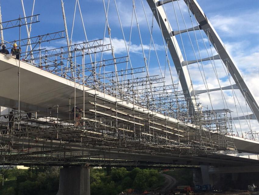 Suspended Bridge Scaffold