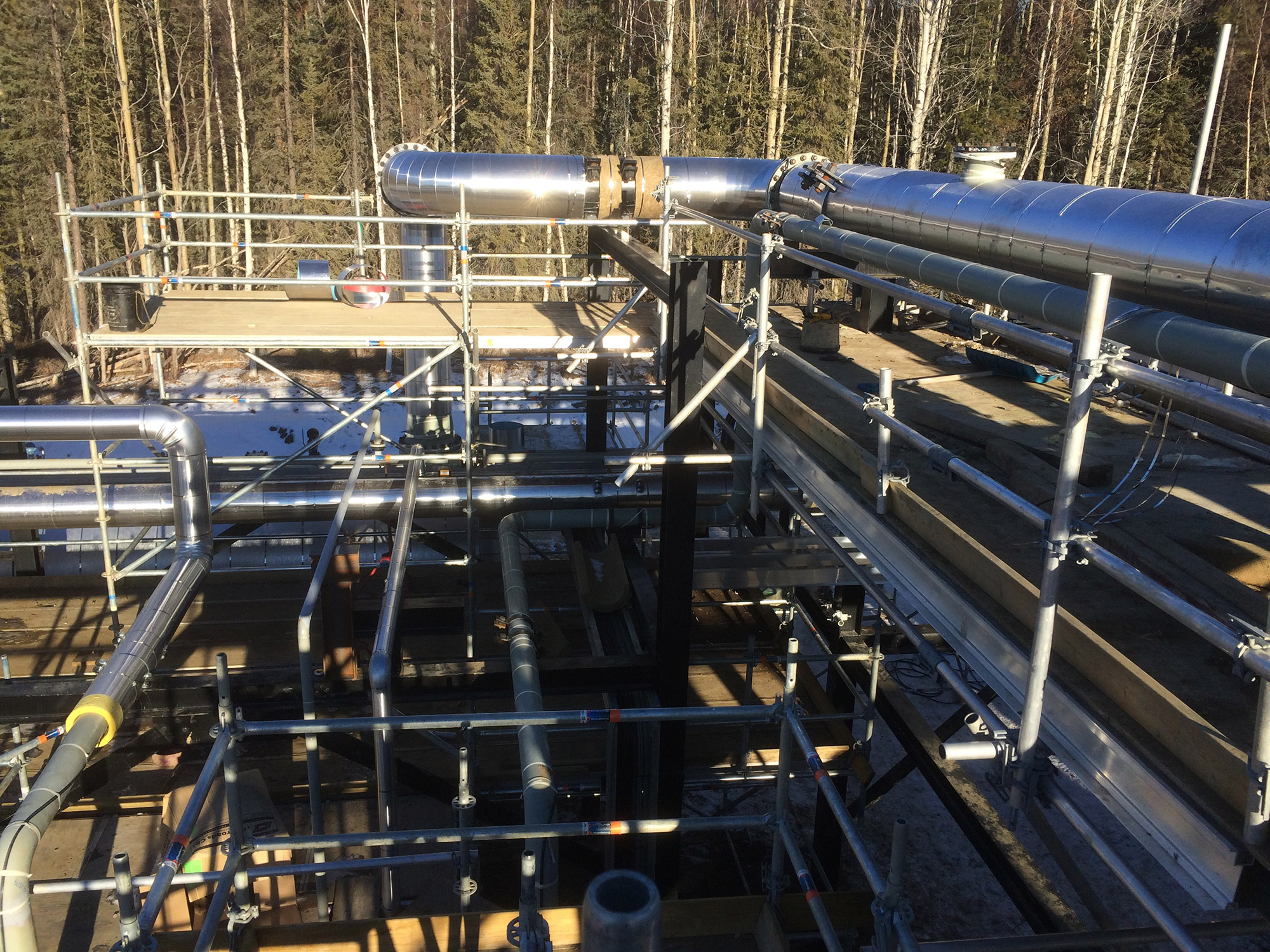 scaffolding compnay for oil and gas projects