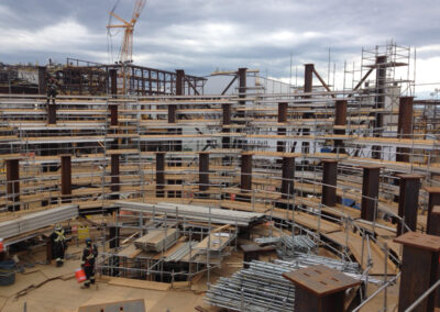 Industrial Scaffold Systems for oil and gas