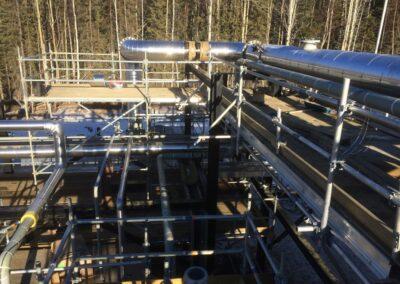 Industrial Scaffolding Project Saskatchewan