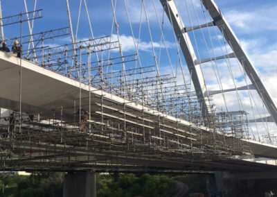 King Scaffolding Bridge Suspended Access Platform