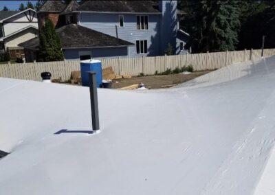 Roof Shrink Wrap System Installation Calgary
