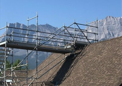 King Scaffolding Residential Scaffolding Project Calgary