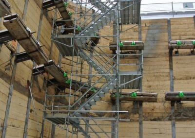 Temporary Stair Tower Accesses Edmonton