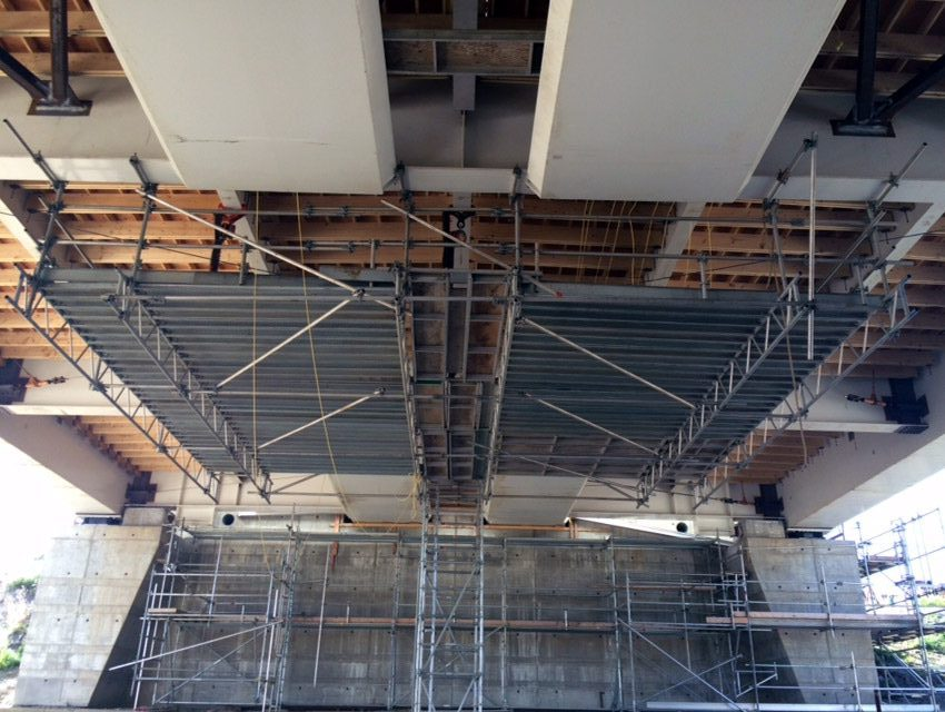 Bridge Scaffolding Platforms & Structures by King Scaffolding