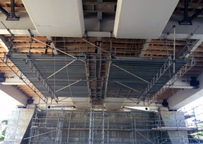 Pedestrian Overhead Protection & Platform Structure by King Scaffolding
